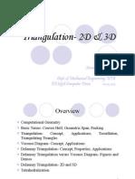 Triangulation Tetrahedralization