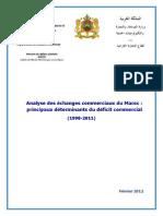 Déterminants Du Déficit Commercial Du Maro Février 2012