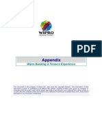 Appendix - Banking Finance Experience