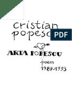 Cristian Popescu - Arta Popescu
