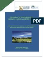 Programa Gobernabilidad UDESA 2014