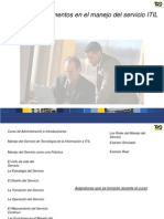 57236738 ITIL V3 Service Management Espanol