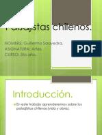 Paisajistas Chilenos Guillermo Saavedra