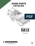Dynapac CA12 Parts Catalog
