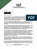 FITG letter