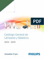 Catálogo General de Lámparas y Balastros 2014_2015 PHILIPS