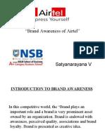 brand awareness of airtel