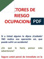 Factores de Riesgo Ocupacional Para Supervisores