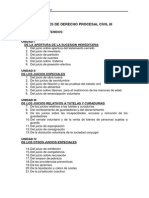 Apuntes de Derecho Procesal Civil III