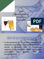 Fermentacion Alcoholica y Inmovilizacion Celular