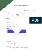 Cálculo de Funções de Várias Variáveis Exercicios