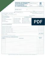 FO-311-201 (Rips) en u.c.i Neonatal - Hospitalización
