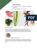 29 Alimentos Que Dão Músculos