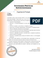 ATPS Estatística Eng Prod 2013