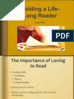 molding a life long reader powerpoint