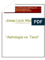 Albareda Josep Lluis - Astrologia vs Tarot