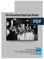 Unrealized American Dream