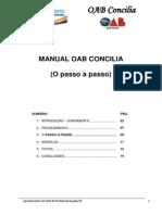 Manual OAB Concilia - Passo a Passo Aos Advogados e Subseções