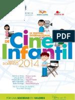 Programa del IX Festival Internacional de Cine Infantil
