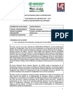 MESA DEPARTAMENTAL DE ANTIOQUIA