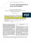 Suppression of Cocaine Self-Administration by Extinction and Punishment