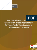 Publicacion OT Guia Metodologica RM 135-2013-MINAM