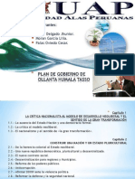 Exposición Del Plan de Gobierno.