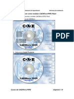 Ejercicio2 Conocer Como Instalar CADWorxPIPE Plant