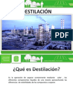 Destilacion Exposicion !!