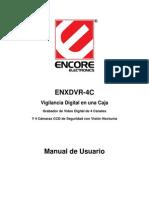 Enxdvr-4c User Manual Sp100831