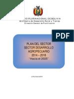 Plan Del Sector Desarrollo Agropecuario 2014 - 2018