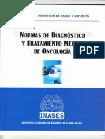 Norma de Diagnostico y Tratamiento de Oncologia