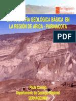 Cartografia Geologica Basica Arica-Parinacota