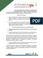 Acta Estimulos Sed 2010