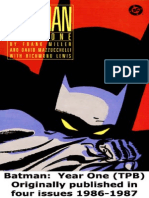 Frank Miller Batman Year One Pdf