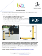 approved bollards