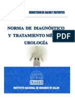 Norma de Diagnostico y Tratamiento de Urologia