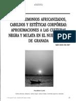 Entre Demonios Africanizados Cabildos y Estéticas Corporeas de RafaelDíaz
