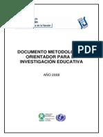 Argentina - Documento Metodologico Para La Investigacion Educativa