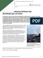 Página_12 __ Ultimas Noticias __ El Avión de Malaysia Airlines Fue Derribado Por Un Misil