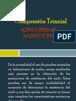 Compresión Triaxial