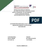Informe de Pasantias 06-02-13