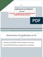 Ici 1141 Unidad 3 Subrutinas Predefinidas en Sl 2014