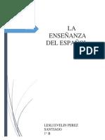 LA ENSEÑANZA DEL ESPAÑOL.docx