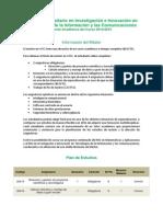 Oferta Academica Investigacion e Innovacion Tics 10062014