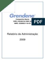 Balanço 2009