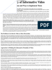 Informative Video Paper Dec09PDF