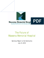 Massena Memorial Hospital Community Report