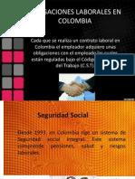 2. Obligaciones Laborales en Colombia