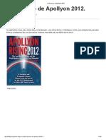 Thomas Horn - El Ascenso de Apollyon 2012